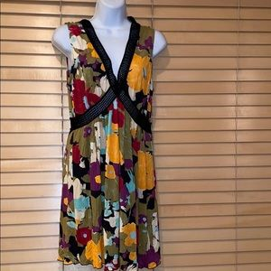 Missoni Colorful Floral Mini Knit Tunic/Dress